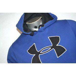 10950 Mens Under Armour Hoodie Athletic Size Blue